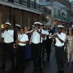 Parade de casamento no French Quarter