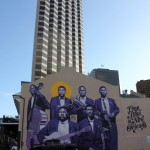 Grafite de Jazz nas paredes de New Orleans