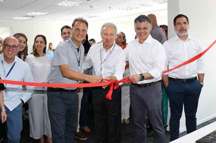 Inauguração do escritório da Visual em Santo André