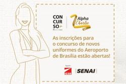 Inframerica lança concurso para definir novo uniforme do atendimento ao cliente