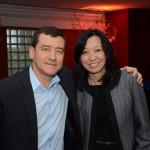 Ivan Blanco, da Aerolineas Argentinas, e Rosa Shida, da United Airlines