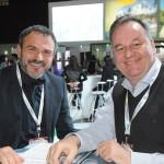 Jair Pasquini, do Meeting Brasil, e Thomas Weber, da Turisrio
