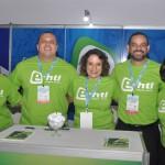 Jennifer Fernandes, Renato Lima, Simone Ricio, Tibério Lima e Silvia Russo, da E-HTL