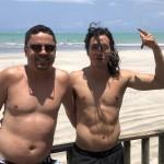 João Paulo Simões e Paulo Backeuser, da Refugio da Serra Viagens e Turismo-MG