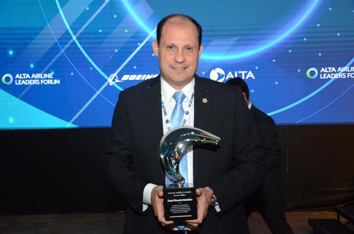 Jose Ricardo Botelho, da Anac Brasil recebeu o premio Alta Award