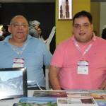 Junior Gomes e Aurelio Moniz, da Viva Enjoy