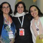 Kelly Dias, Lara Siqueira e Flavia Fernandes, da Journeys