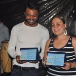 Lilian Amorim e Marcelo Neri levaram os prêmios na categoria Azul Center