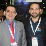 Luciano Lapa, da PBTur, e Andre Reis, de Porto de Galinhas