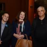 Luiz Araujo, da Disney, Magda Nassar e Nicanor Abreu, da Trade Tours