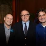 Luiz Araujo, da Disney, com Rodolpho Gerstner e Fernando Nobre, da RCA