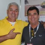 Luiz Eduardo Bento, prefeito de Maxaranguape, e Ruy Gaspar, do Ocean Palace Hotel