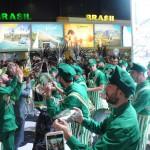 Mangueira fez a festa dos argentinos com muito samba