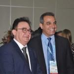Manoel Linhares, da ABIH, com Breno Mesquita, diretor do JPA Travel Market