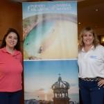Mariana Higa, da Aeromexico, e Cristiane Cortizo, da Copa Airlines