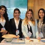 Mariana Marques, Emily Gonçalves, Fernanda Borges e Thais Facundo, do Ceará