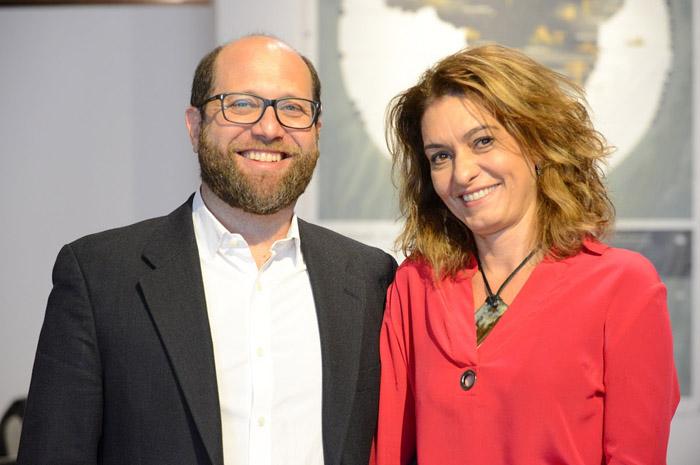 Martin Frankenberg e Simone Scorsato, presidente e diretora executiva da BLTA