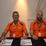 Mauricio de Oliveira e Márcio vaz, da Flytour Viagens