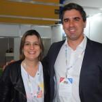 Milu Megale, diretora de Marketing da Empetur, e Antonio Baptista, secretário executivo de Turismo e Lazer de PE