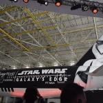 Nave temática de Star Wars, uma parceria entre Latam e Disney