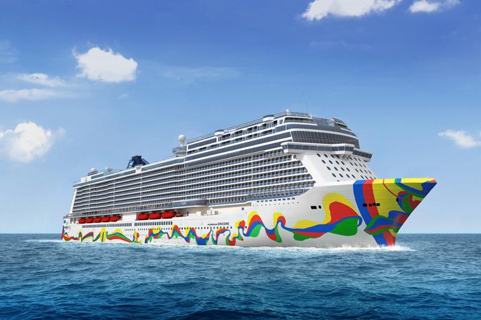 O mais novo navio da Norwegian foi inaugurado este ano
