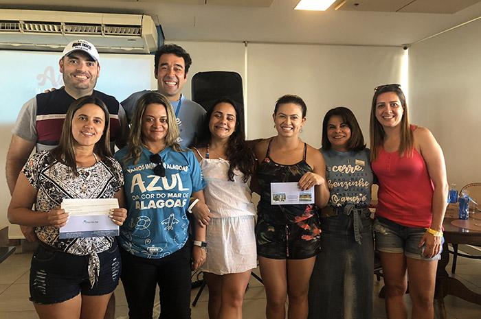 Os agentes Rogerio Fontana, da Fontana Turismo, Tercila Agudo, da TM Turismo, Carolainne David, da A&C Turismo e Ana Paula Politanop, da Politano Viagens foram os vencedores do sorteio.