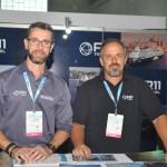 Pablo Vilaseca e Tody Navarro, da R11 Viagens e Turismo