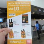 Passageiros do voo inaugural da Flybondi ganharam desconto no Duty Free