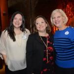 Paula Barreto, Cintia Douglas e Claire Bilby, da Disney