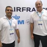 Paulo Lobão, da Air France-KLM, e Breno Dornelles, da Gol