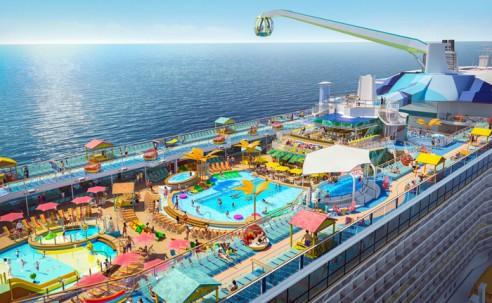 Royal Caribbean apresenta detalhes do Odyssey of the Seas; veja fotos