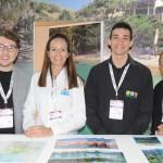 Rafael Carrara, do RIOgaleão, Amanda Salazar, de Angra dos Reis,  Lucas Alves, do RioCVB, e Erly de Jesus, da Setur-RJ