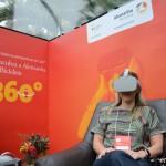 Realidade virtual de bicicleta