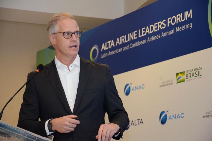 Reinaldo Krugner, Diretor para América Latina e Caribe da Embraer