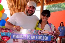 Hot Beach Olímpia chega a marca de 1 milhão de visitantes