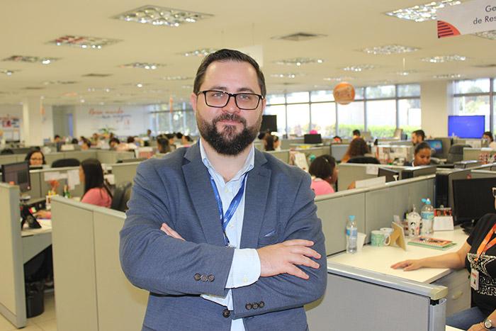 Rodrigo Fritsche, diretor Comercial da Flytour Gapnet Consolidadora