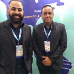 Rodrigo Issa e Josué Silva, da Cabo Verde Airlines