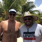 Rodrigo Macedo e Rafael Martins, da Martins Viagens e Turismo, de Guaíba-SP