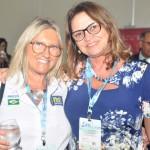 Rosa Masgrau, do M&E, com Ruth Avelino, presidente da PBTur