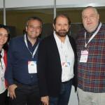 Rosiana e Laercio Ananias, da Infotera, Guilherme Paulus, da GJP, e Renato Carone, da Turnet - Copy