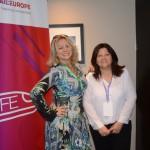 Rute Garcia, da Dream Factory, e Adriana Prado, da Vivere