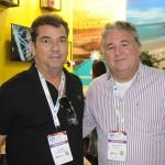 Ruy Gaspar, do Ocean Palace Hotel, e Fernando Rocha, de Touros-RN