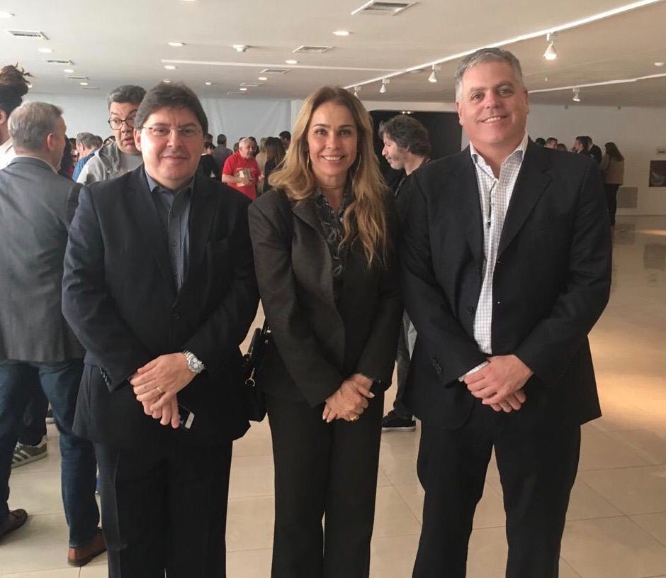 Sérgio Souza, Katia e Ricardo Domingues, da Resorts Brasil