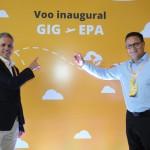 Sebastian Pereira, presidente, e Esteban Tossutti, CEO da Flybondi