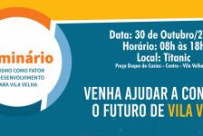 Vila Velha recebe seminário sobre Turismo como fator de desenvolvimento