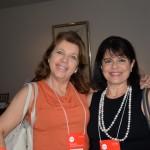 Sheila Hinz, da Sheila Hinz Travel, e Luciana Samaha, da Viabellu Turismo