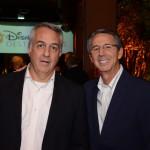 Sylvio Ferraz, da CVC Corp, e Eloi de Oliveira, da Flytour