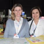 Tatiana Turra, de Curitiba, e Patricia Albanez, do Sebrae