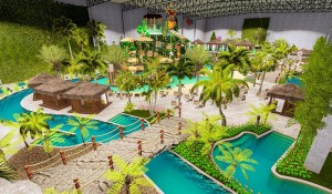 Grupo Tauá de Hotéis inaugura primeiro Parque Aquático Indoor do Brasil