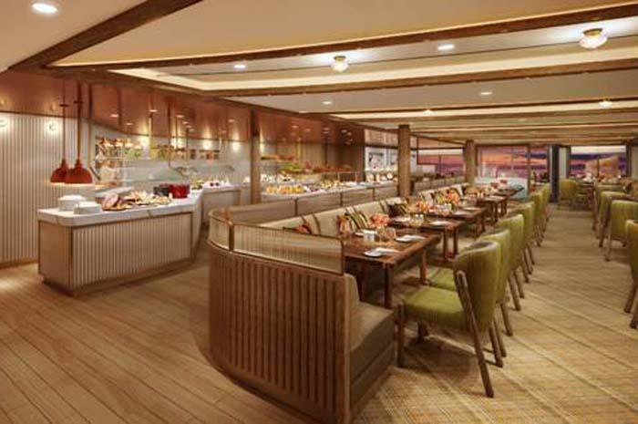 The Colonnade, restaurante do novo Seabourn Venture
